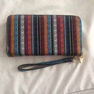 Handbags - Wallet wristlet Multicolored